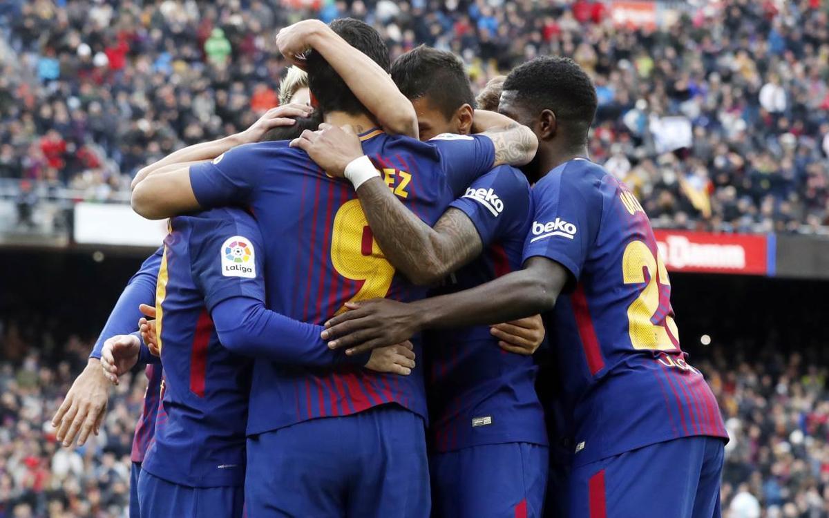 Le FC Barcelone, parmi les 4 équipes invaincues en Europe