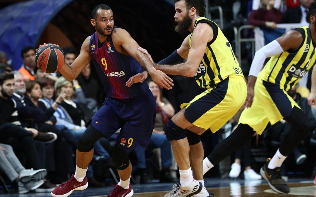 Fenerbahçe Dogus - Barça Lassa: Lluiten fins al final (86-82)