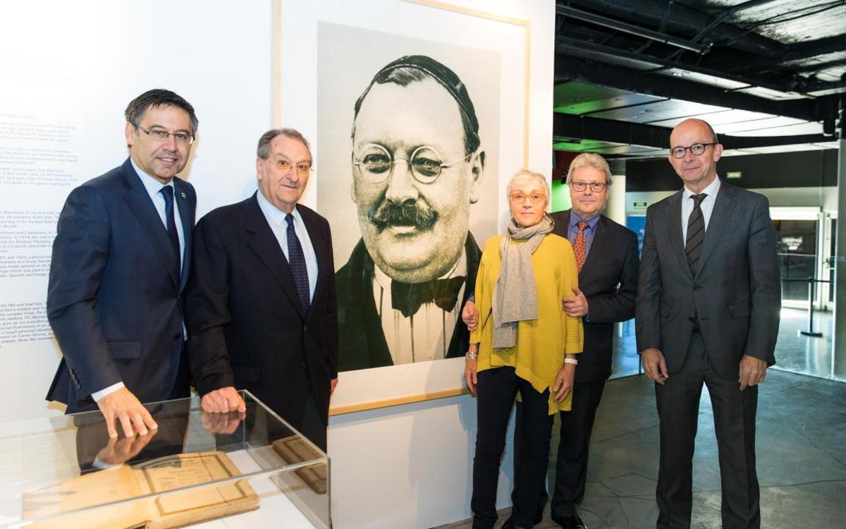 Inaugurat l'Espai Gamper del Museu del FC Barcelona