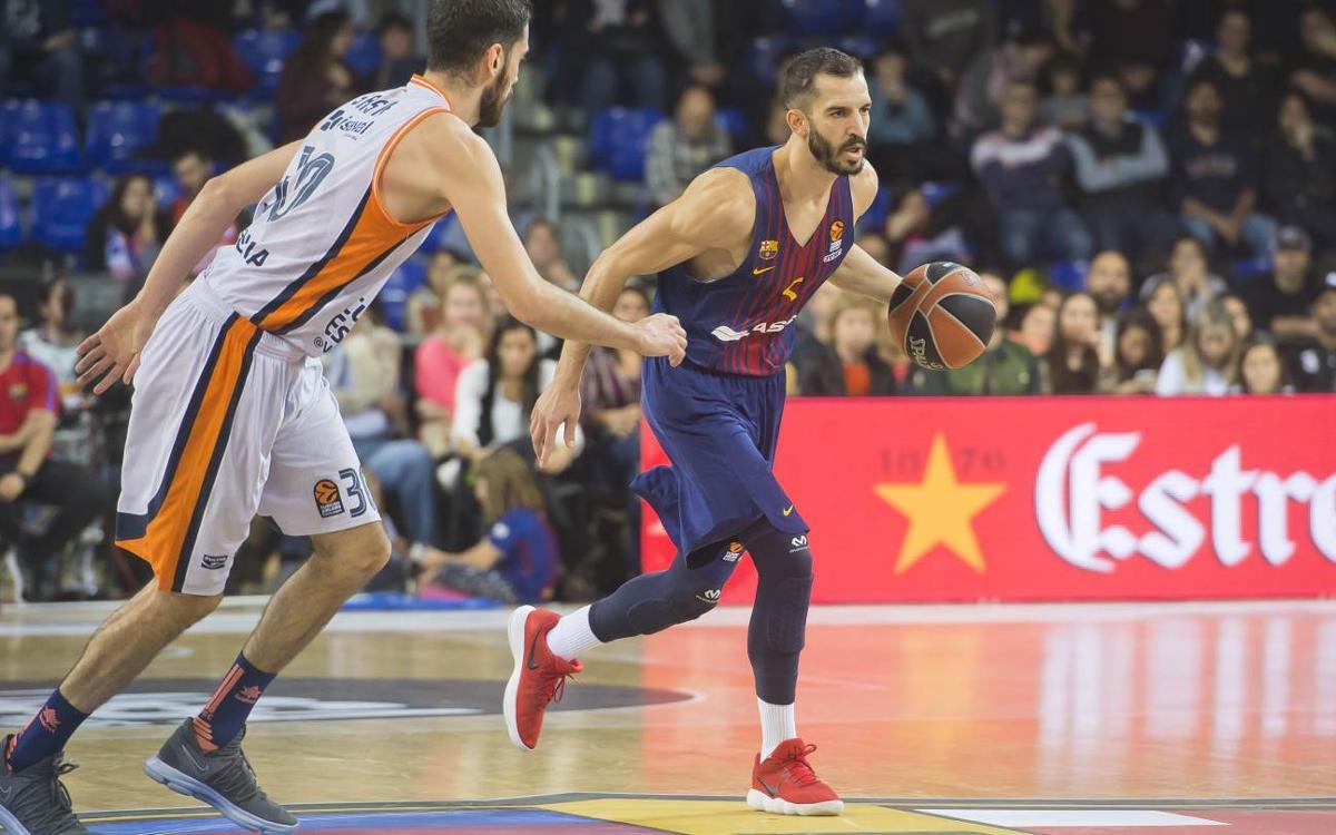 València Basket - FC Barcelona Lassa: Una setmana molt exigent