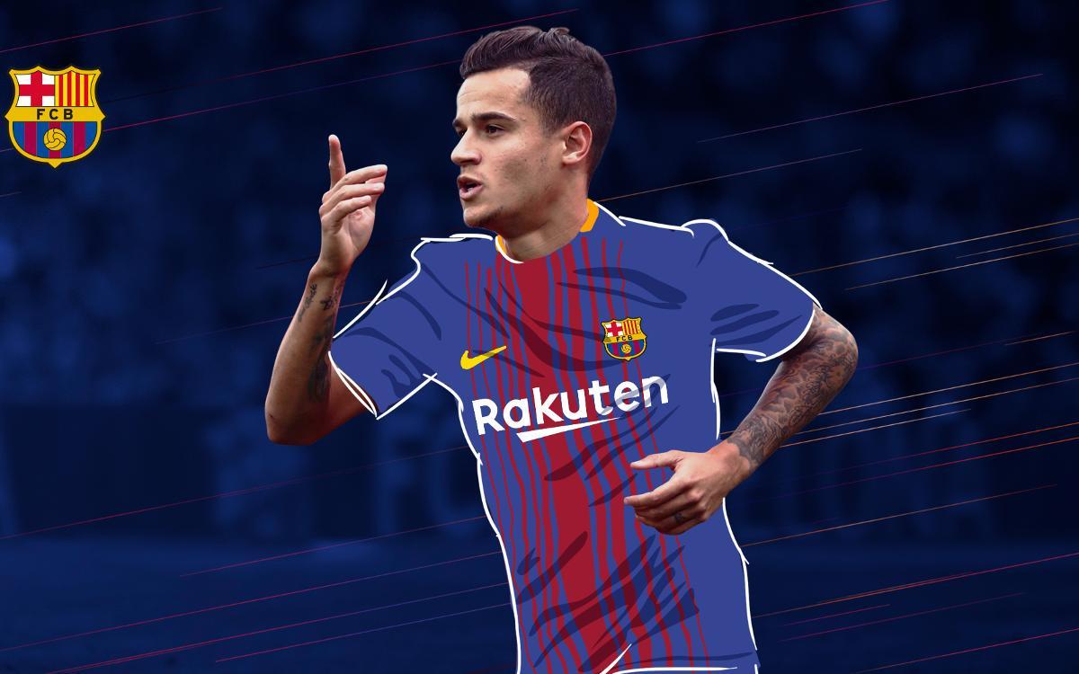 フィリペ・コウティーニョ、FCバルセロナの新選手