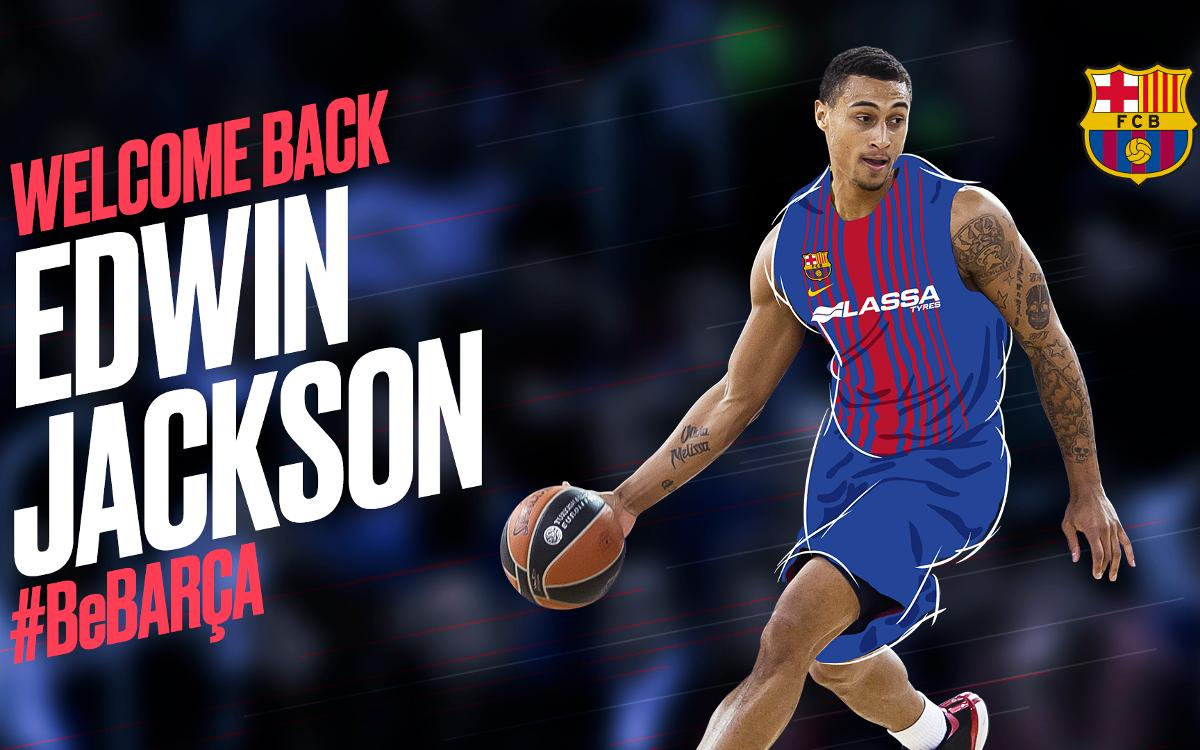 Edwin Jackson: quality and point scoring for Barça Lassa