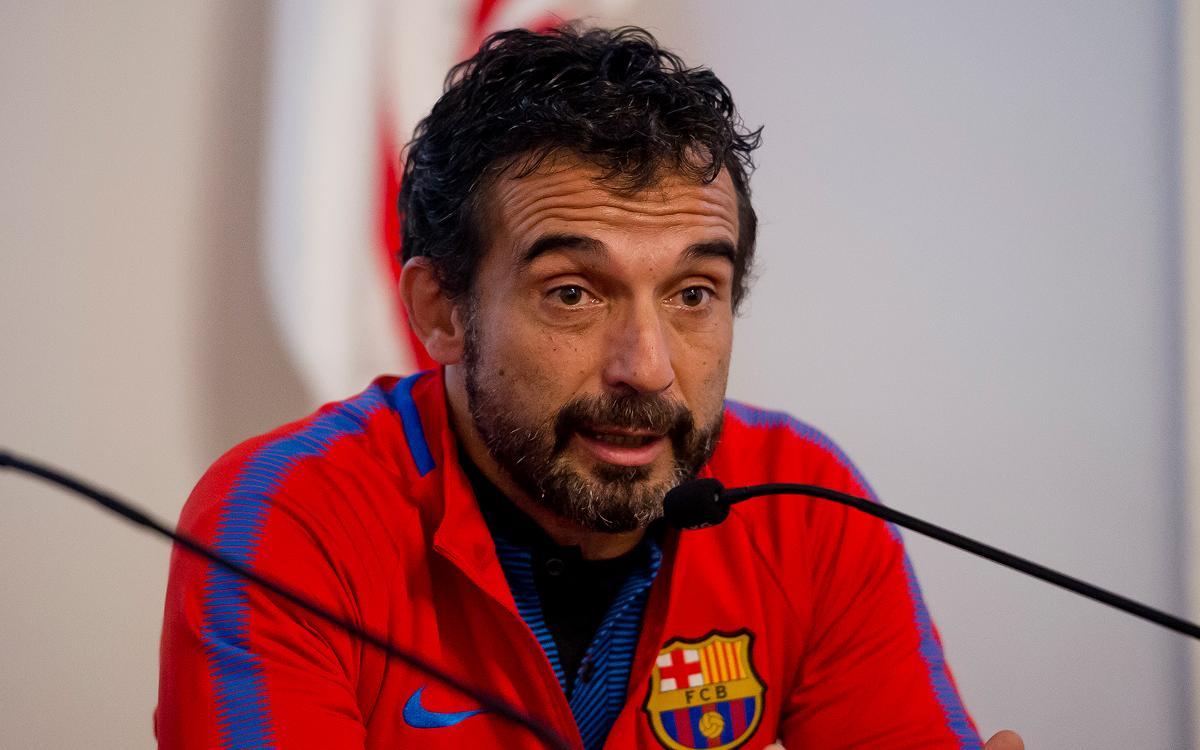 """Tomy García: """"Si imposem el nostre joc, guanyarem"""""""