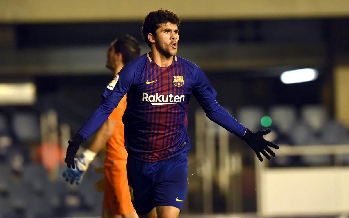 FC Barcelona B - Sporting: Triunfo trabajado para romper la racha (2-1)