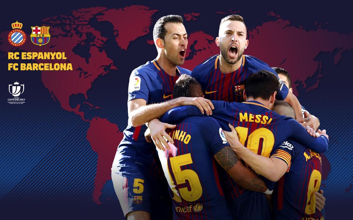 Où et quand voir FC Barcelone - Espanyol, Coupe du Roi, quart de finale retour