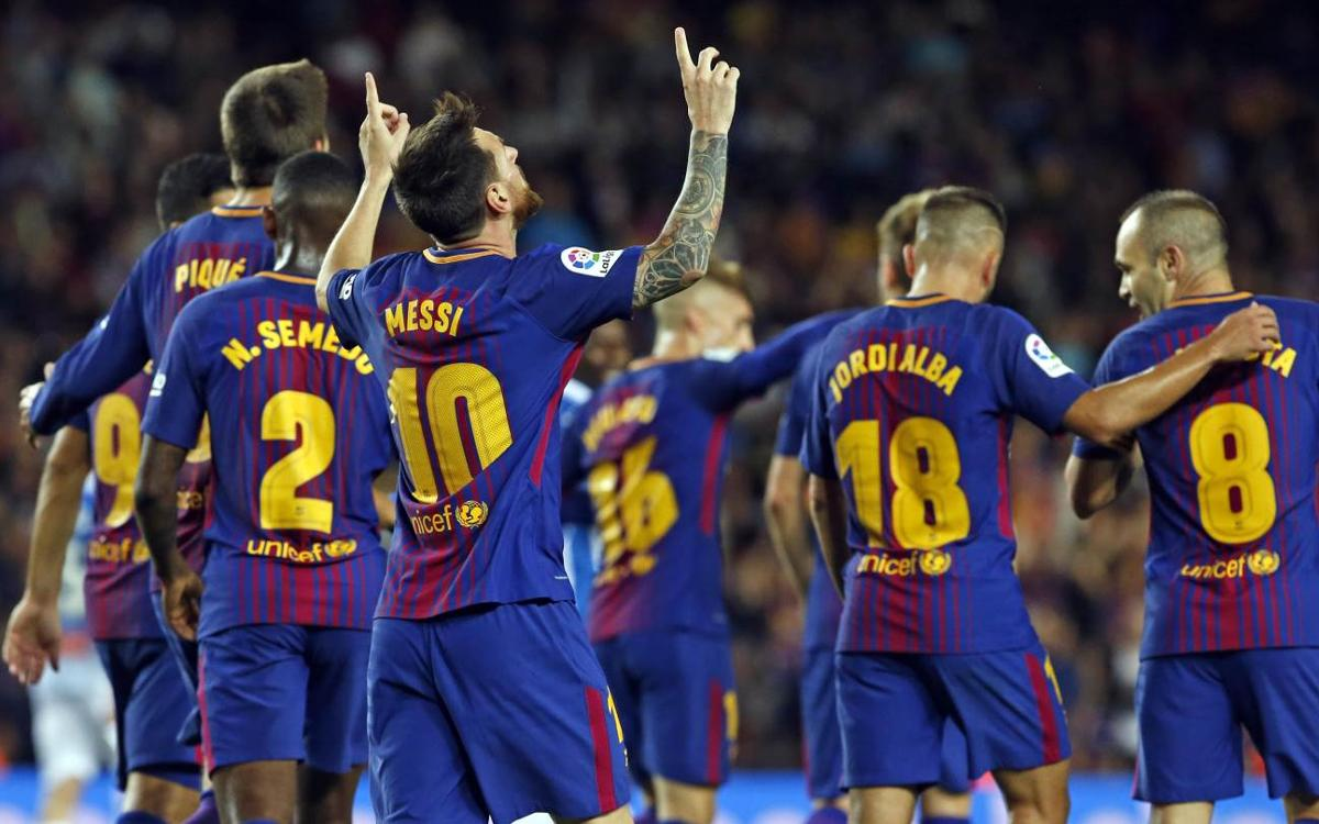 Best start in the league for FC Barcelona