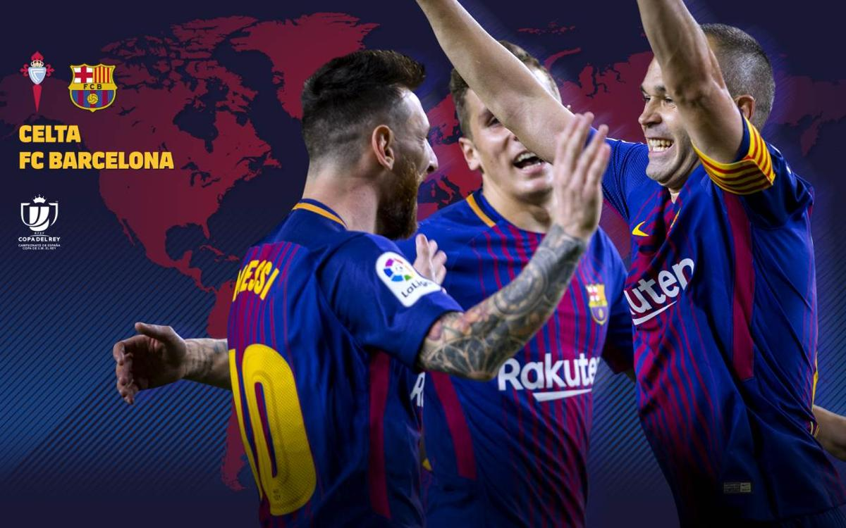 Where and when to watch Celta-FC Barcelona