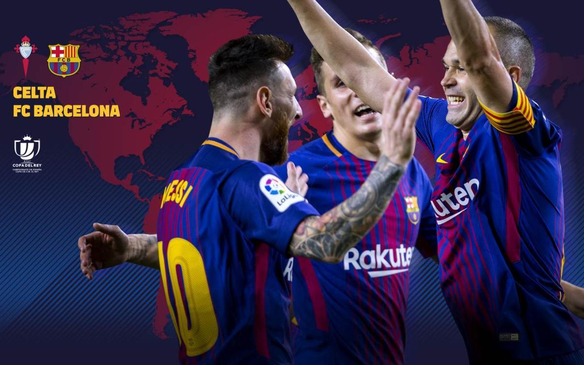 Où et quand voir Celta - FC Barcelone en Coupe du Roi