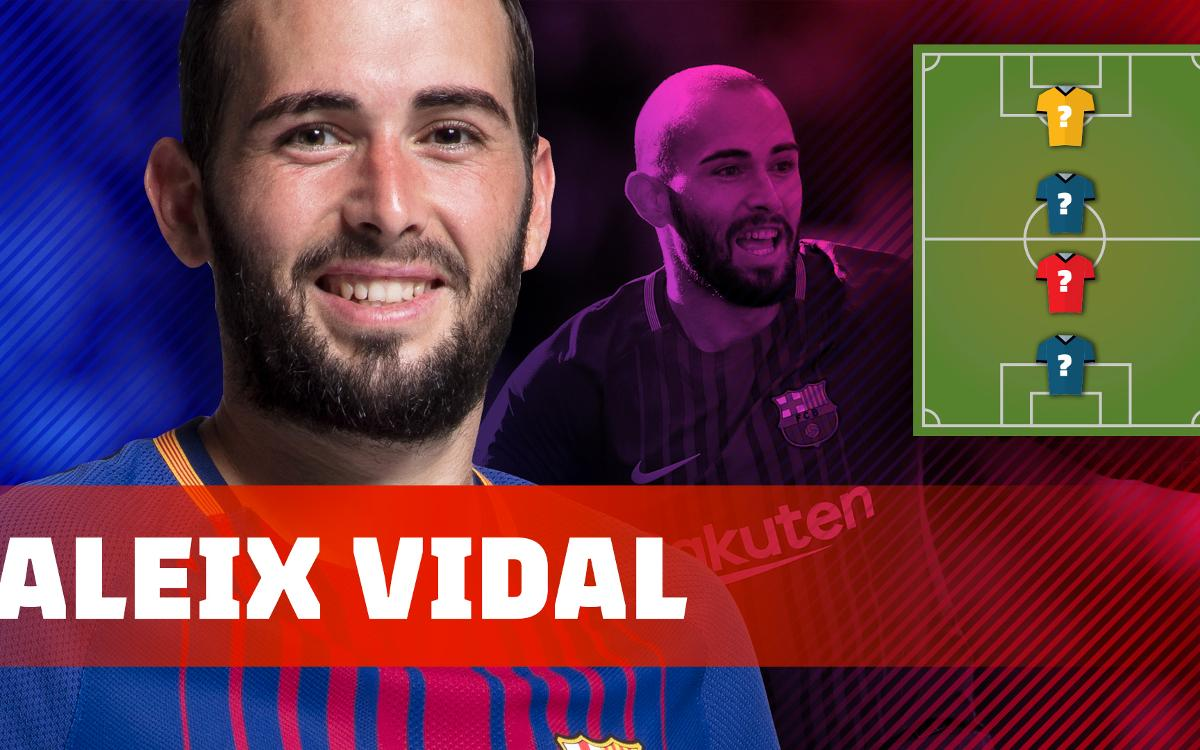Aleix Vidal reveals who his favourite footballers are