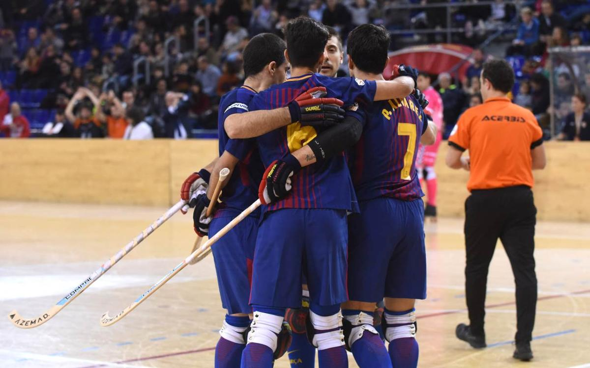 Barça Lassa 2-0 Igualada: Still top of the league