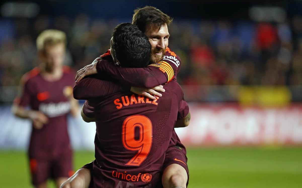 Villarreal v FC Barcelona: A victory in style (0-2)