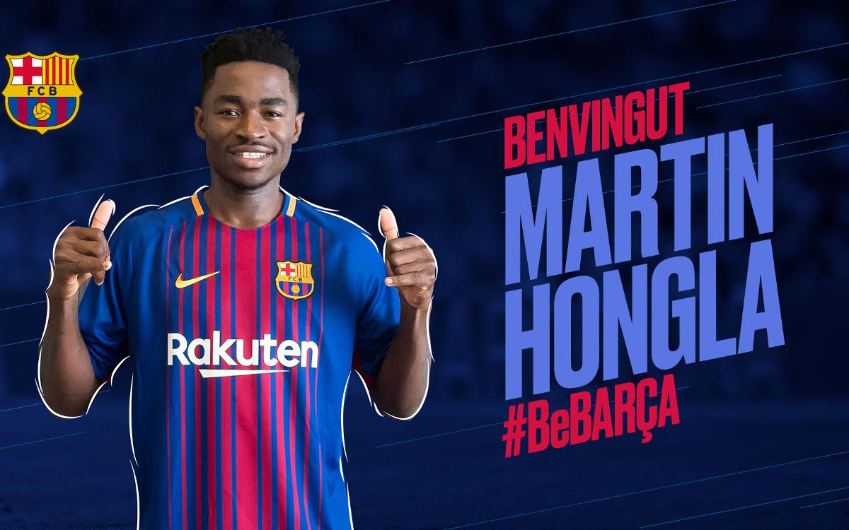 Acord amb el Granada CF per a la cessió de Martin Hongla