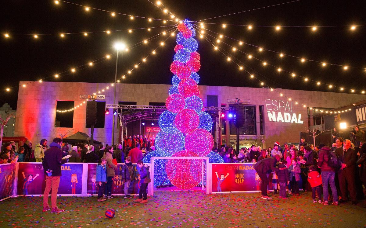 Una fiesta abierta a todos inaugurará el Espai Nadal el miércoles 20 de diciembre
