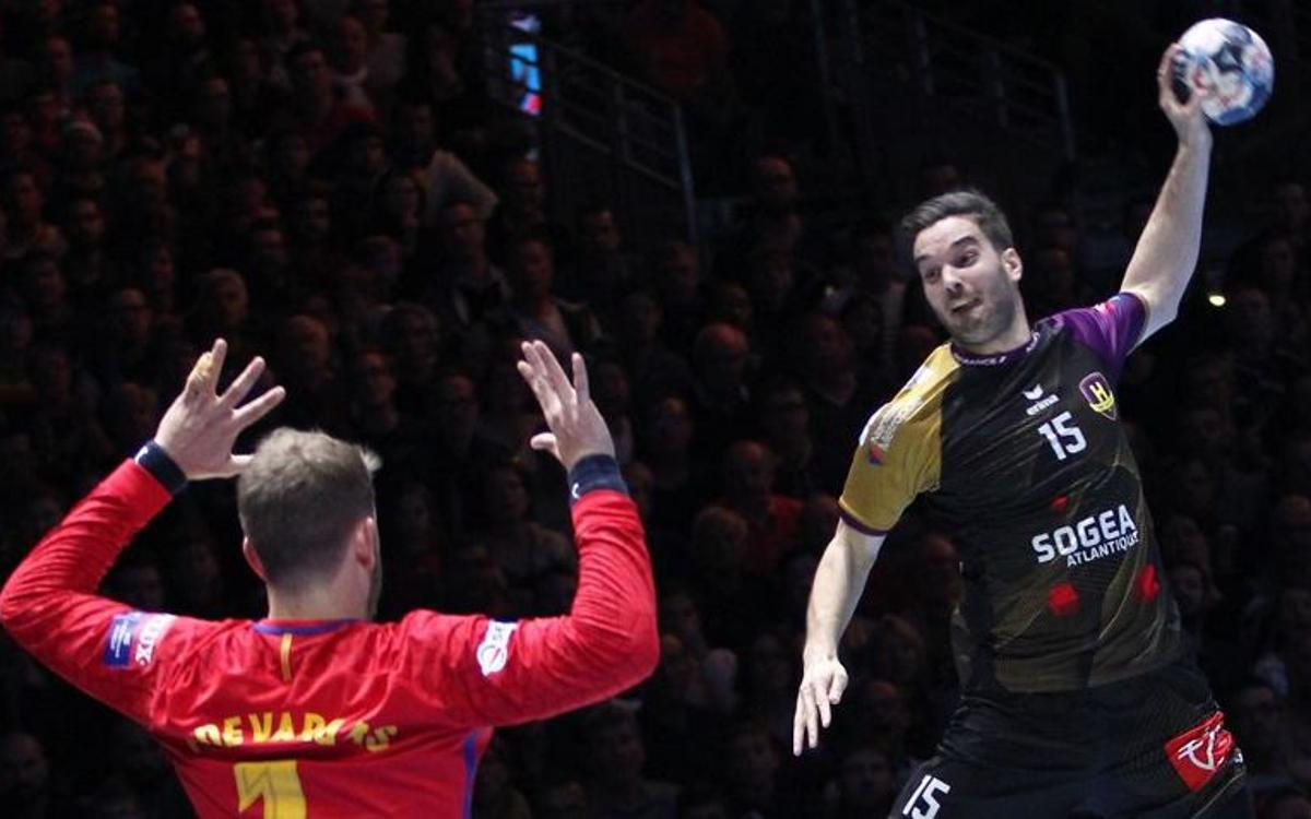 HBC Nantes 29–25 FC Barcelona Lassa: Outscored in France