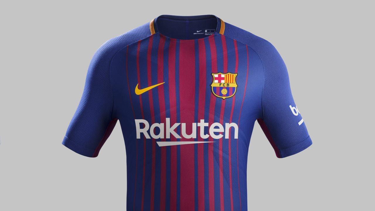 The New Fc Barcelona Kit For The 2017 18 Season