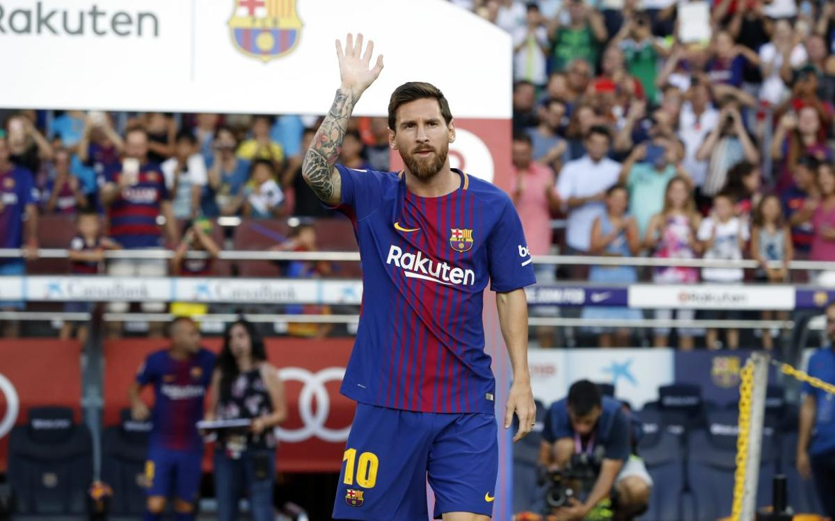Leo Messi to show off the Golden Shoe at the Camp Nou this Saturday