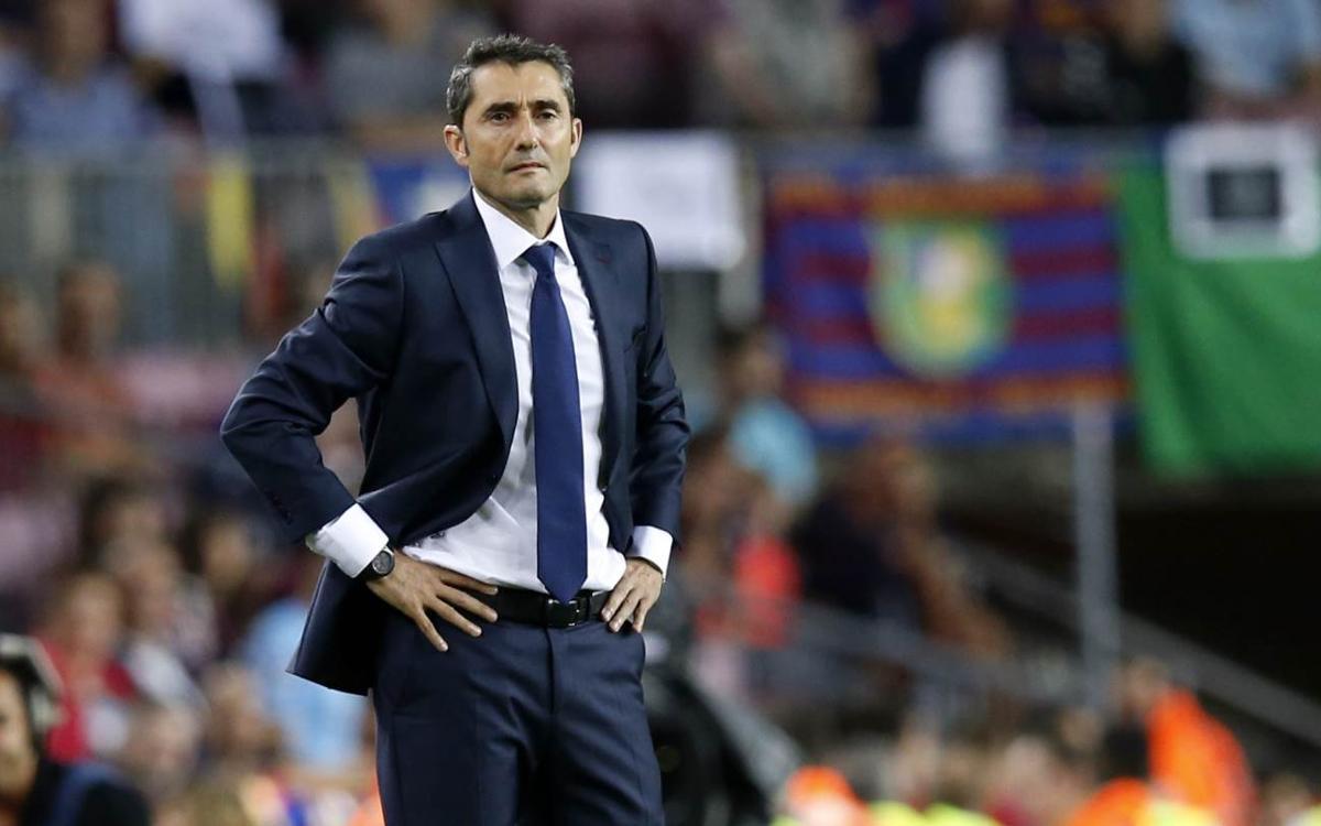 Ernesto Valverde, invicte contra el Celta