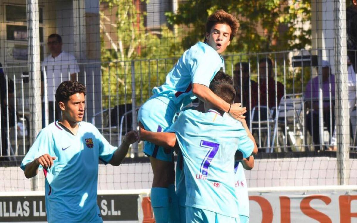 RCD Mallorca- Juvenil A: Campions d'hivern (0-3)