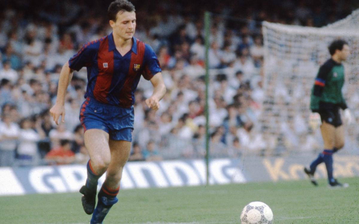 Cristóbal Parralo torna al Camp Nou