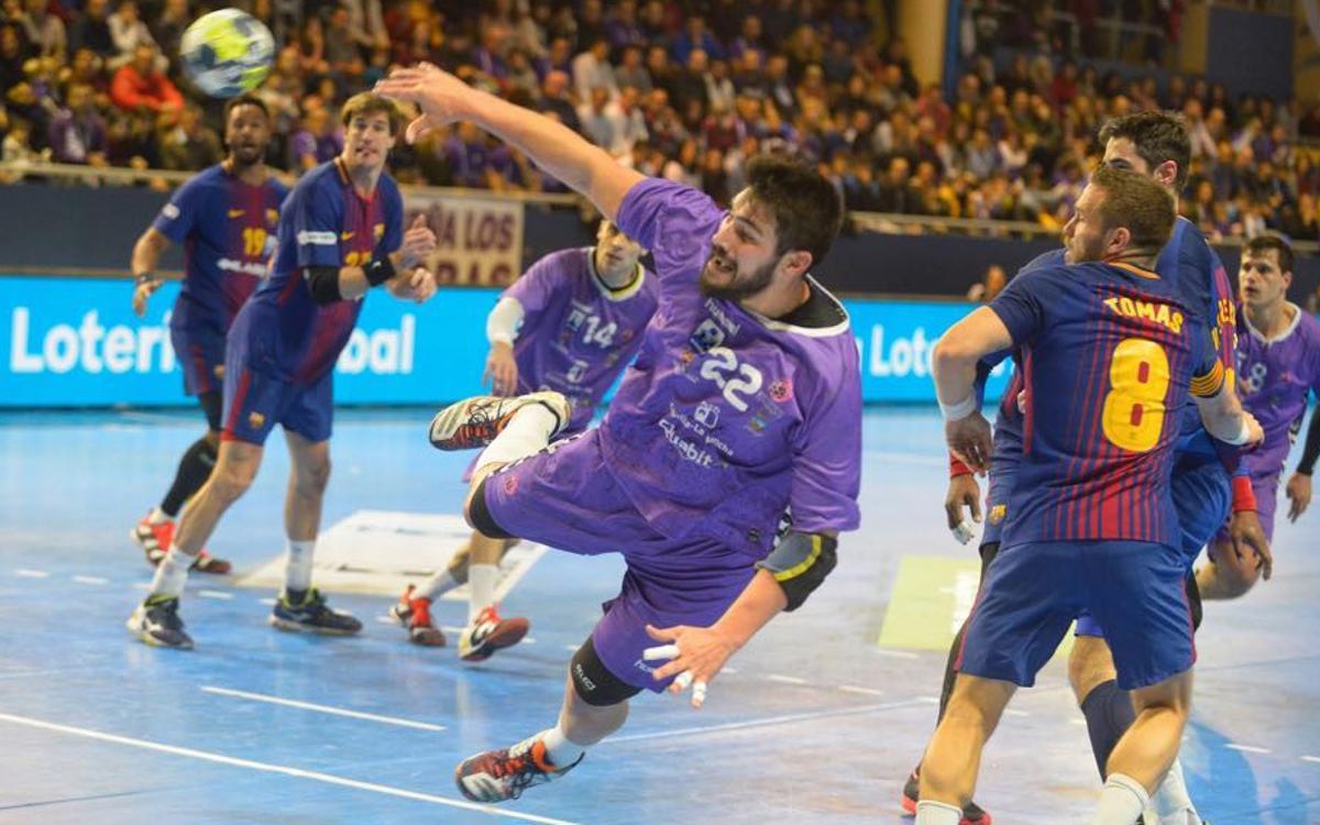 Quabit Guadalajara - Barça Lassa: Se acaba la racha de triunfos pero continúa la imbatibilidad (26-26)