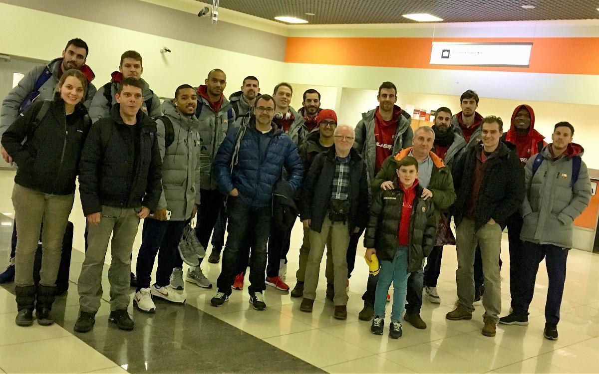 El triomf contra el Khimki, amb aficionats blaugranes