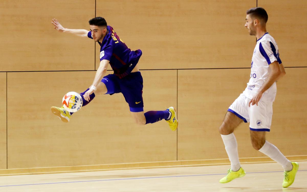 Barça Lassa B - Bisontes Castellón (1-1): Empate en la Ciudad Deportiva Joan Gamper