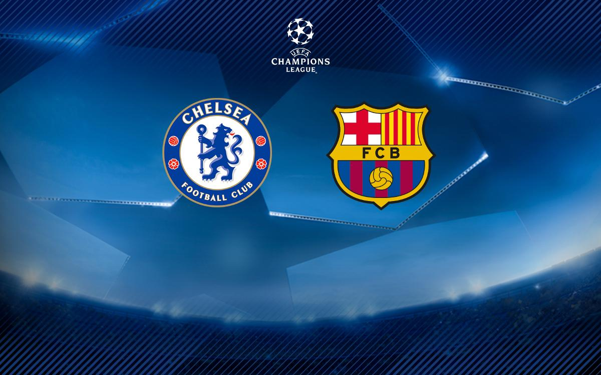 Barça to face Chelsea in Champions League last sixteen