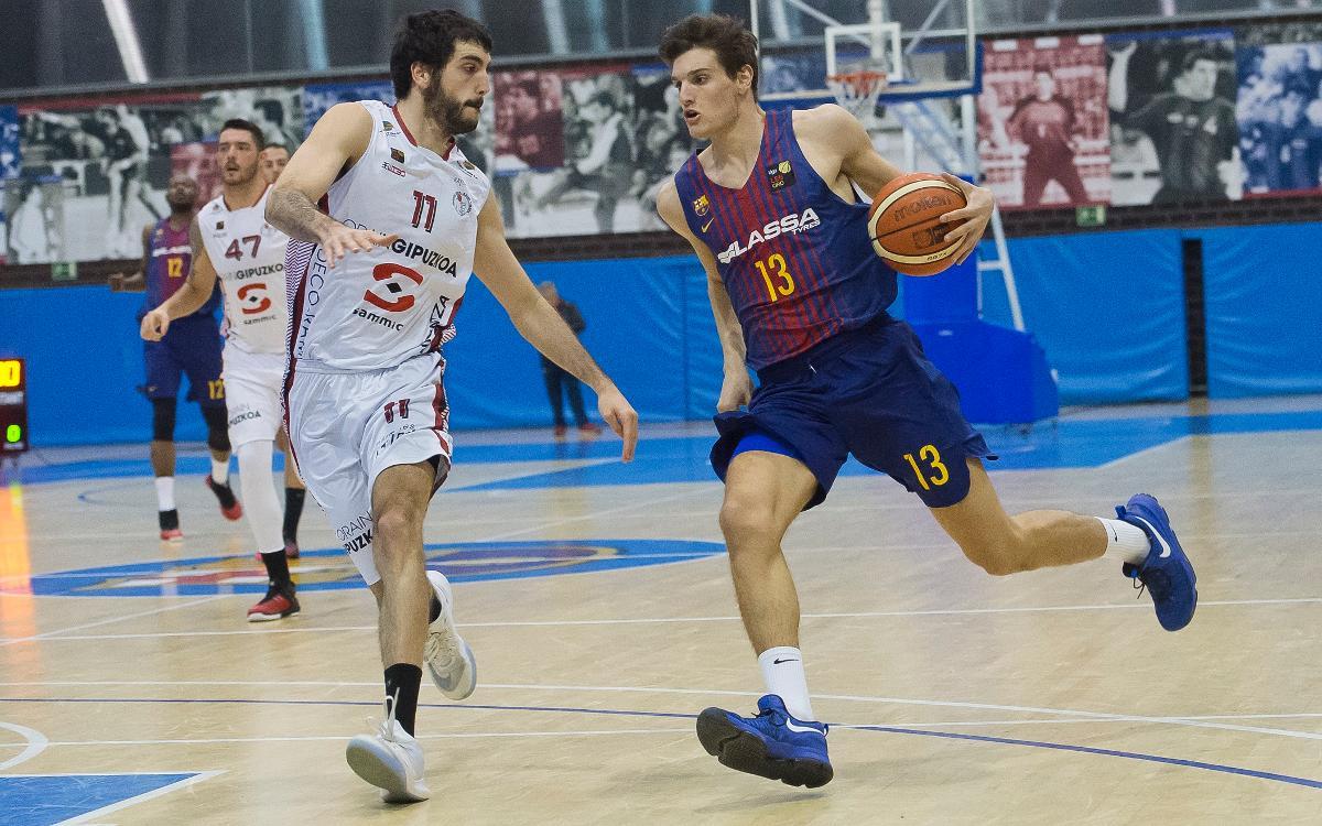 Barça Lassa B – Sammic Hostelería: Guanyant des de la defensa (80-64)