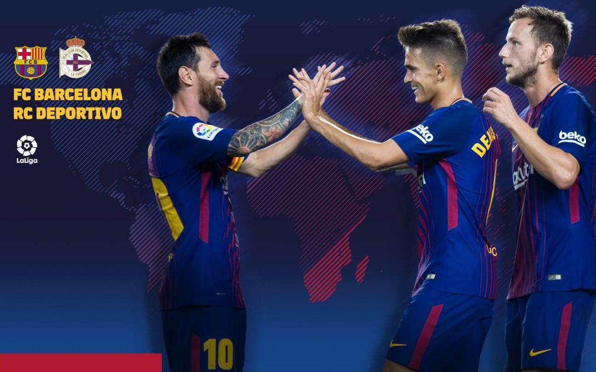 Où et quand voir FC Barcelone – Deportivo La Corogne