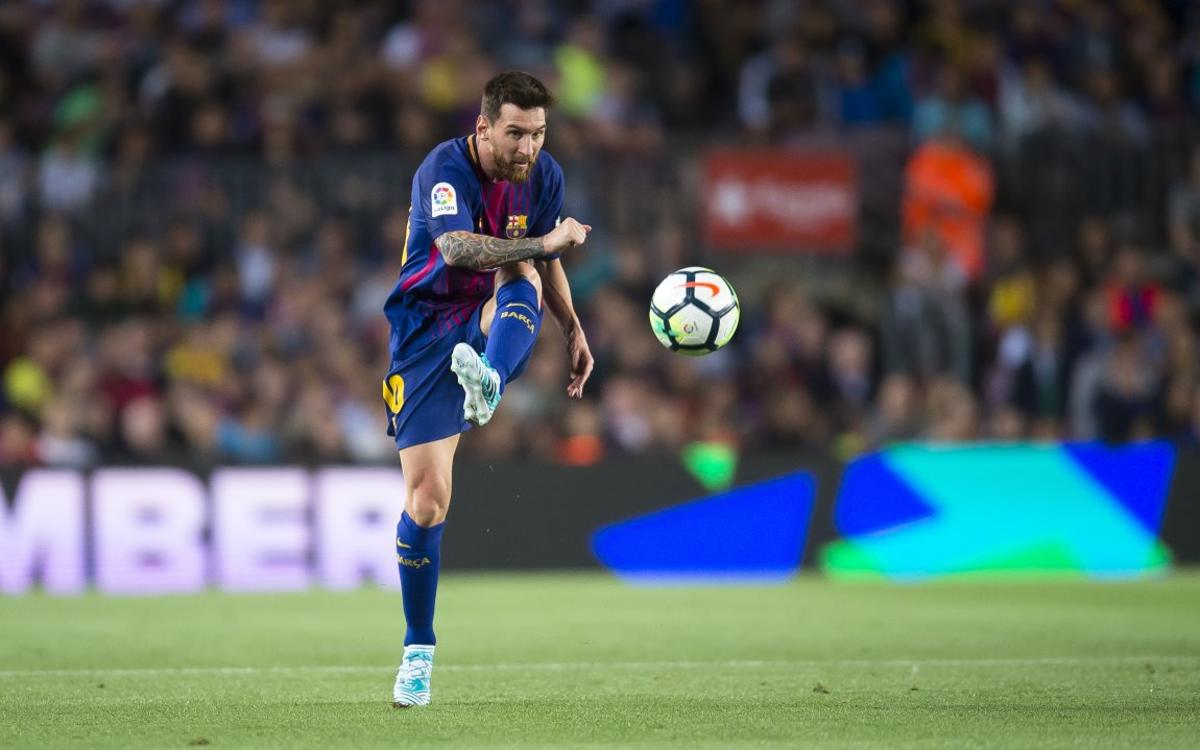 38è hat-trick de l'insaciable Messi