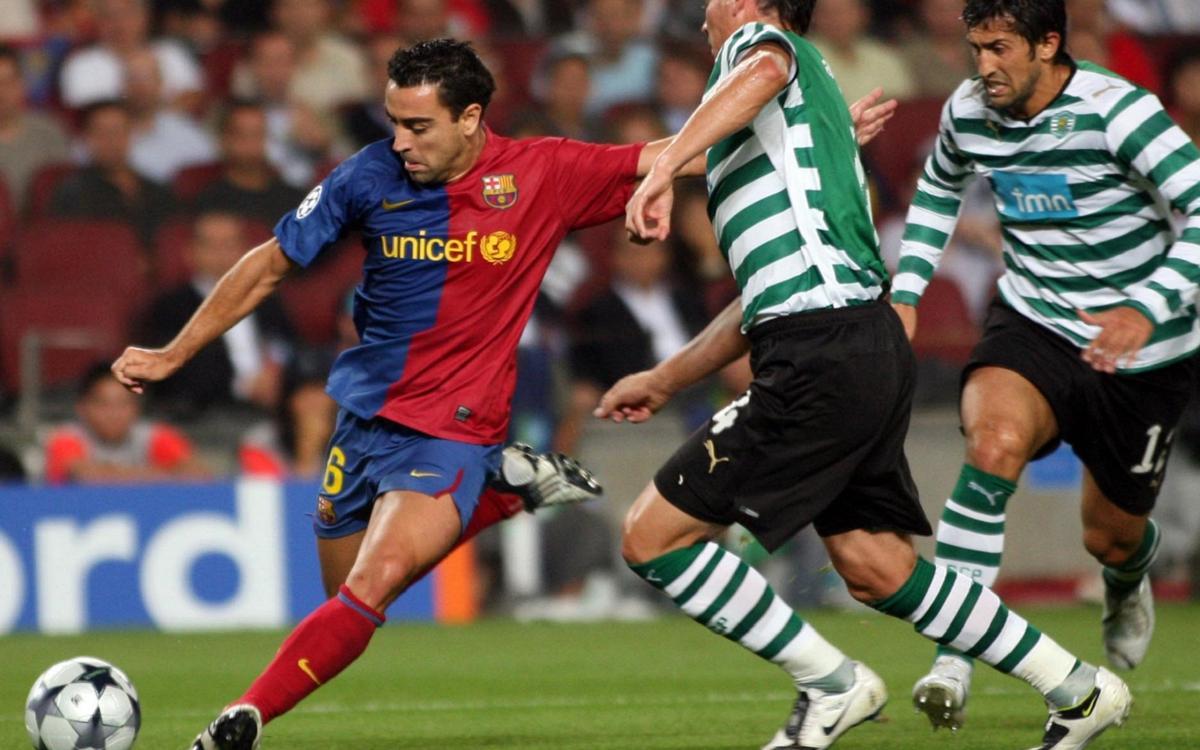 Saps quan va ser la darrera visita de l'Sporting Clube al Camp Nou?