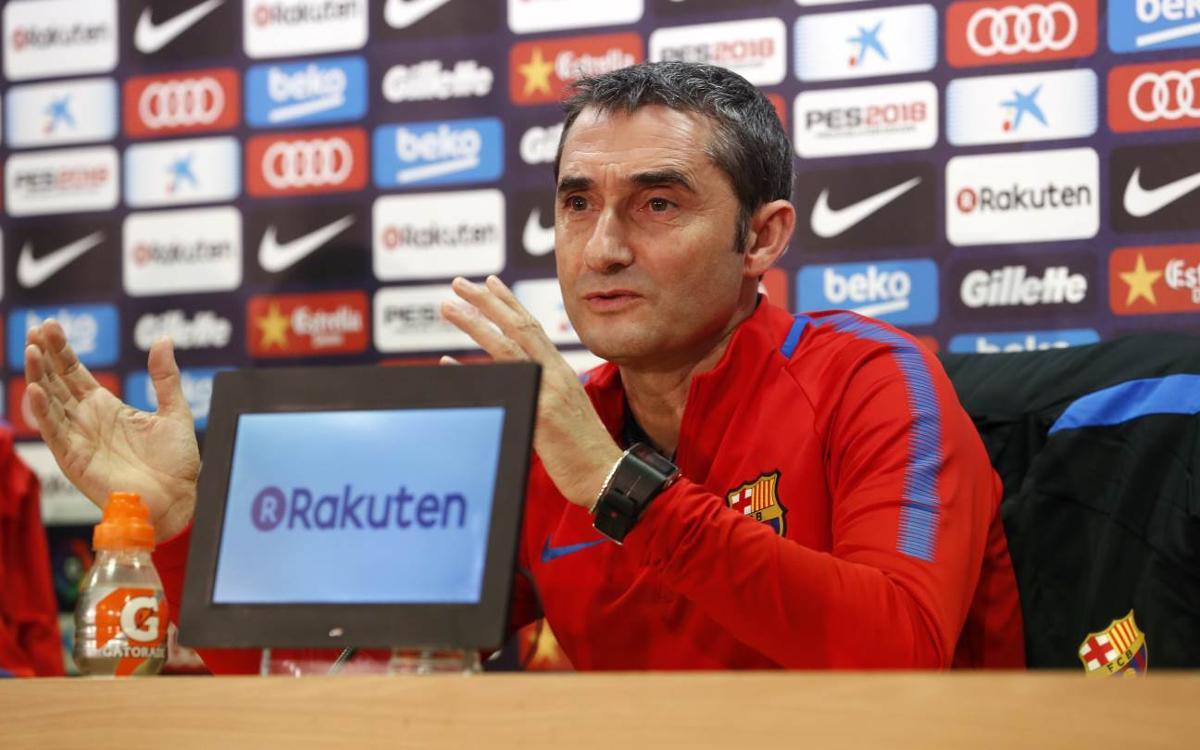 Ernesto Valverde: Celta with Unzué are dangerous