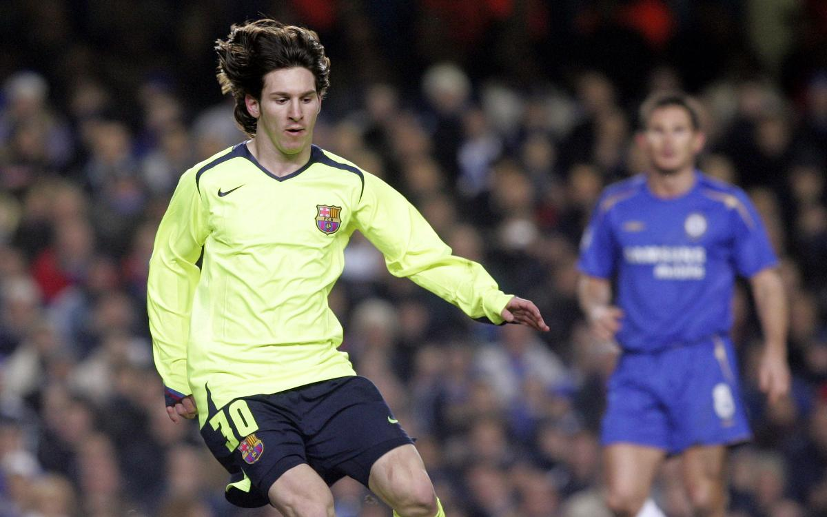 L'exhibició de Lionel Messi a Stamford Bridge l'any 2006