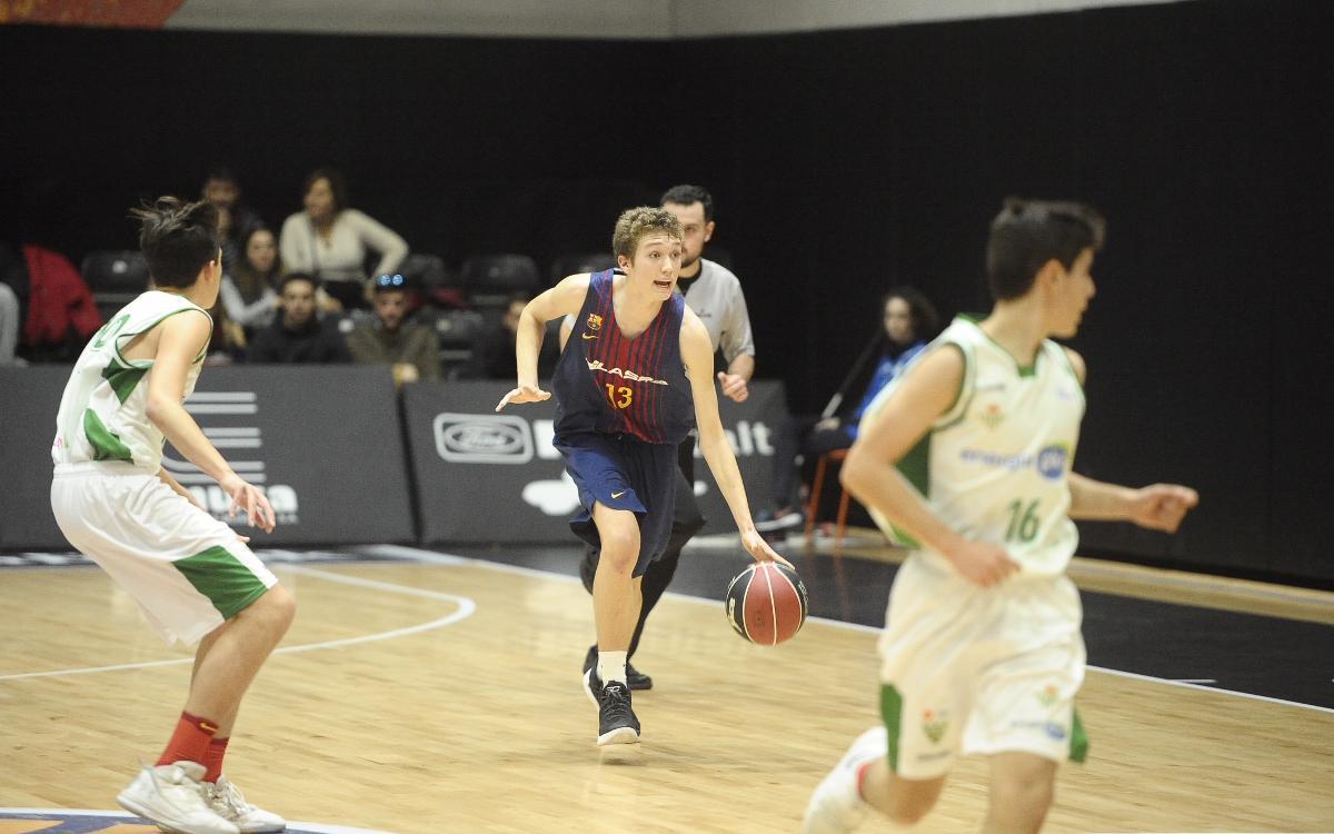 El Infantil A del baloncesto, clasificado para la fase final de la Minicopa Endesa