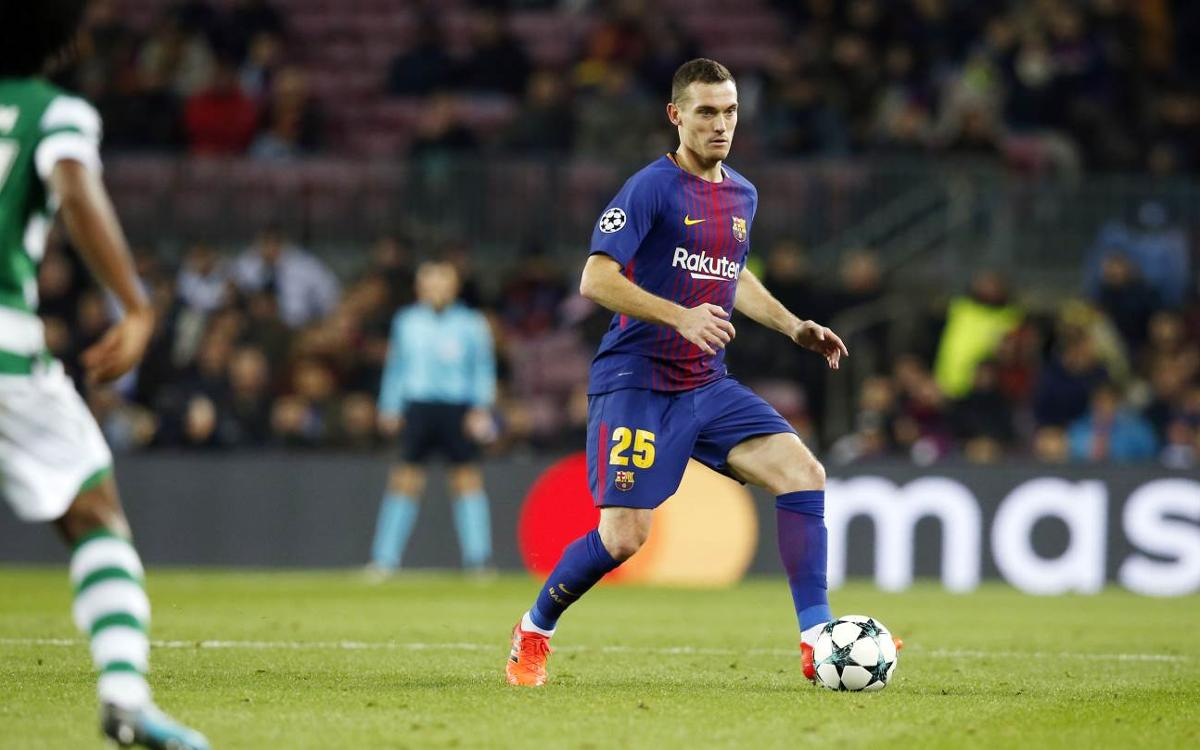 Thomas the talisman: Barça unbeaten with Vermaelen in starting XI