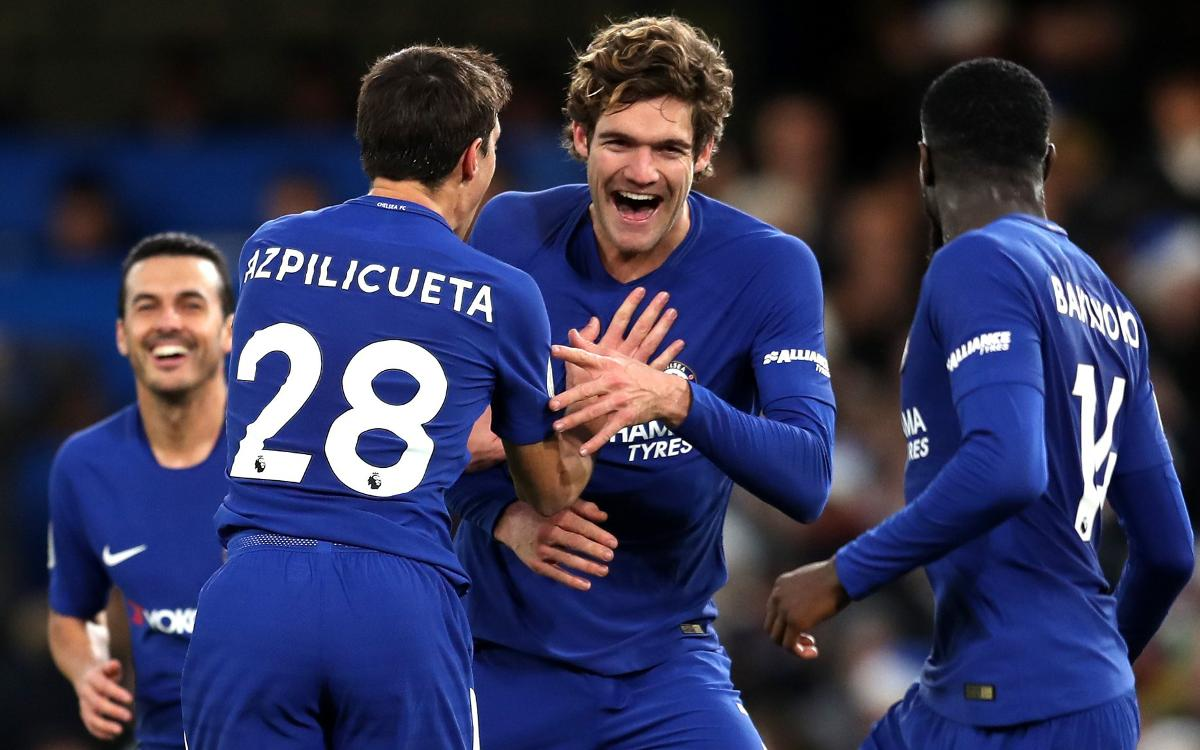 Triunfo del Chelsea en la Premier League (1-0)