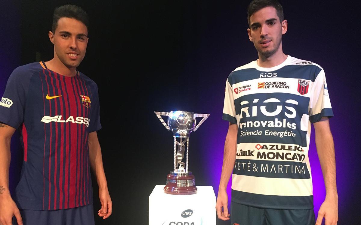 El Ríos Renovables Saragossa, primer rival del Barça Lassa a la Copa d'Espanya