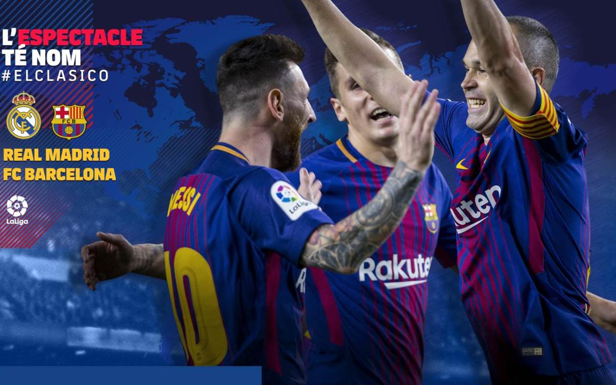 Quan i on es pot veure el Reial Madrid – FC Barcelona