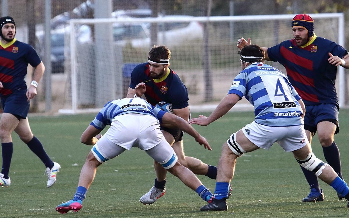 Victòria de play off davant el Complutense Cisneros (45-30)