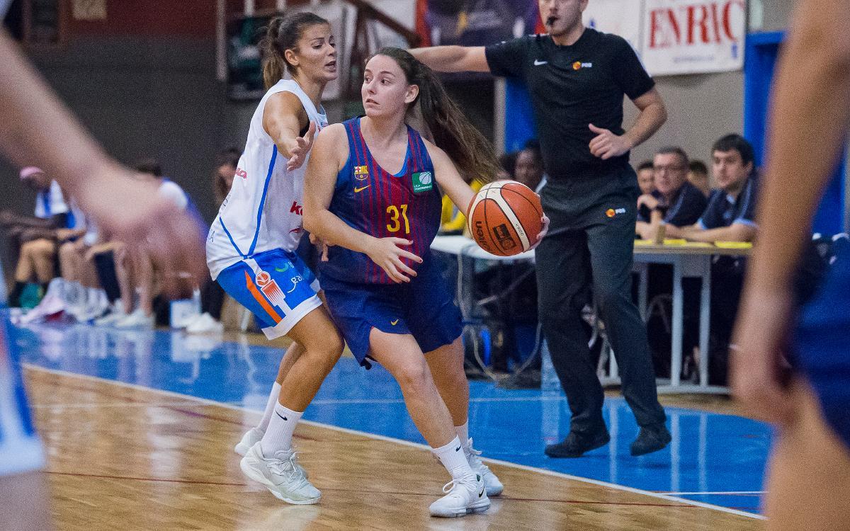 Patatas Hijolusa - Barça CBS: Tanquen un 2017 de somni amb un triomf (56-64)