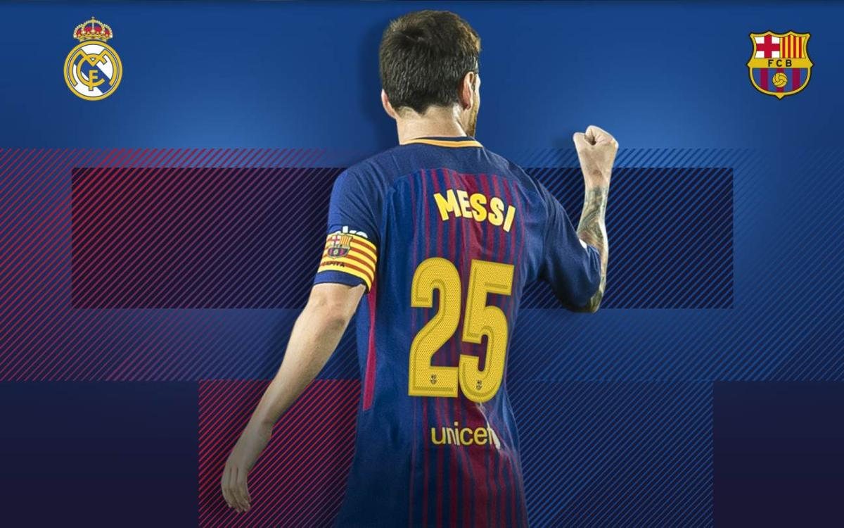 25 Clásico goals for Leo Messi