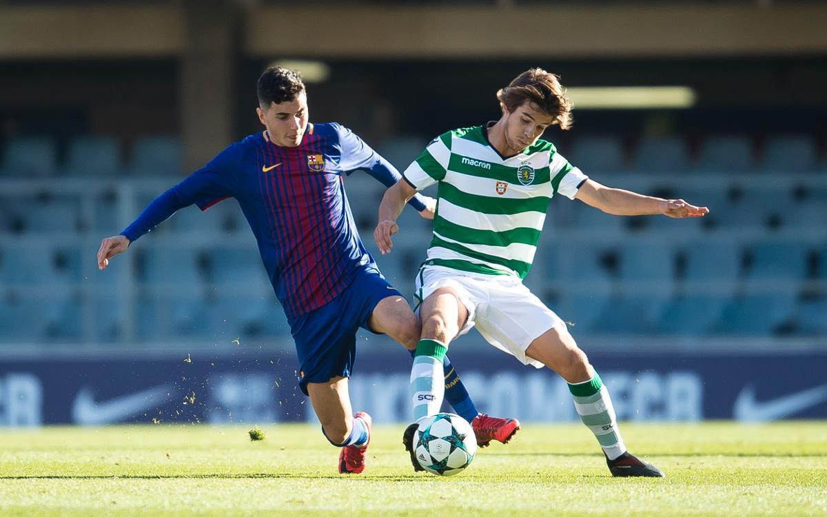 Juvenil A - Sporting Clube Portugal: Empate en el último suspiro para cerrar una buena fase de grupos (1-1)