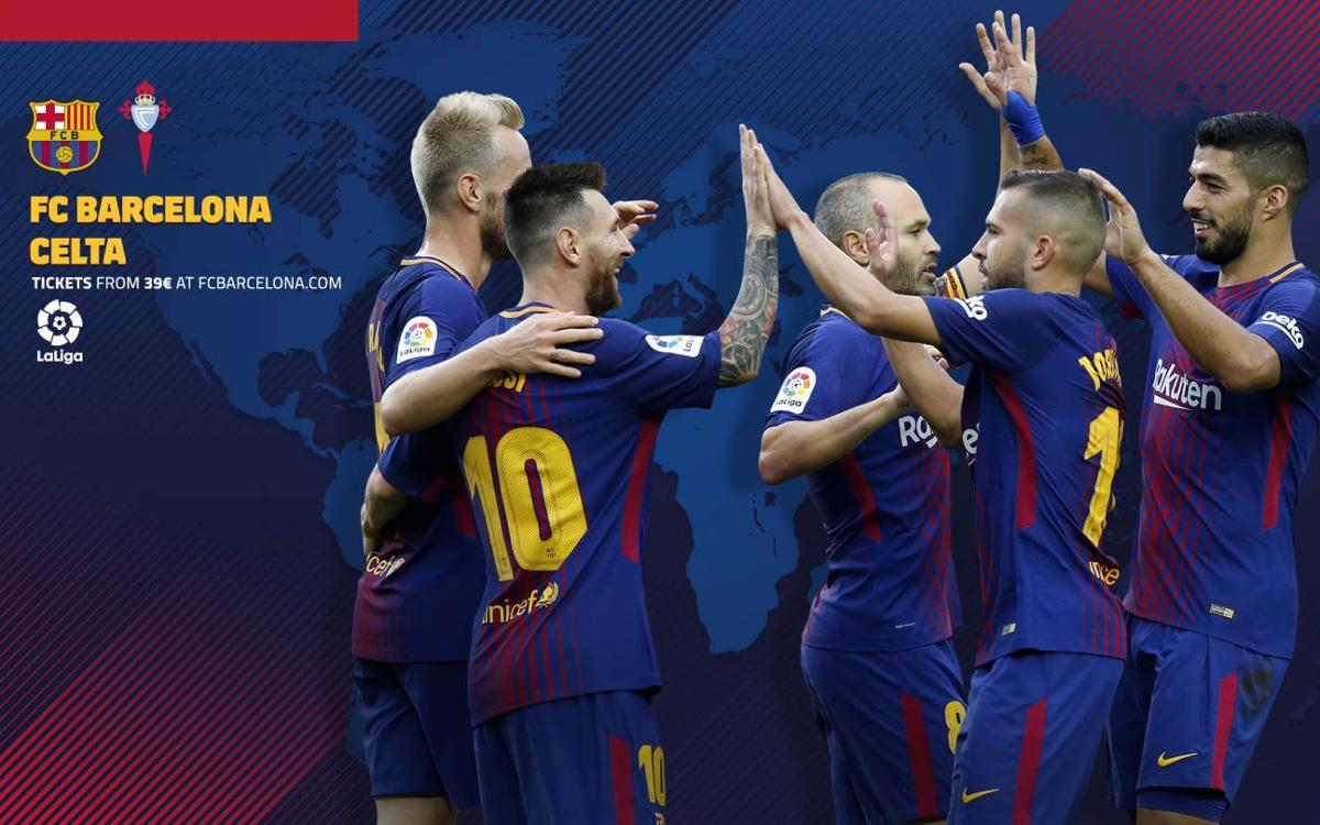 Où et quand voir FC Barcelone - Celta Vigo