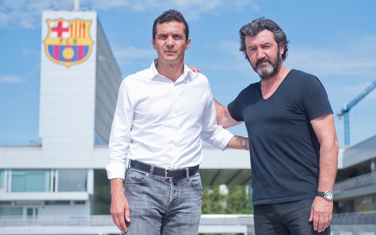 Guillermo Amor and Bakero talk about the supporters movement