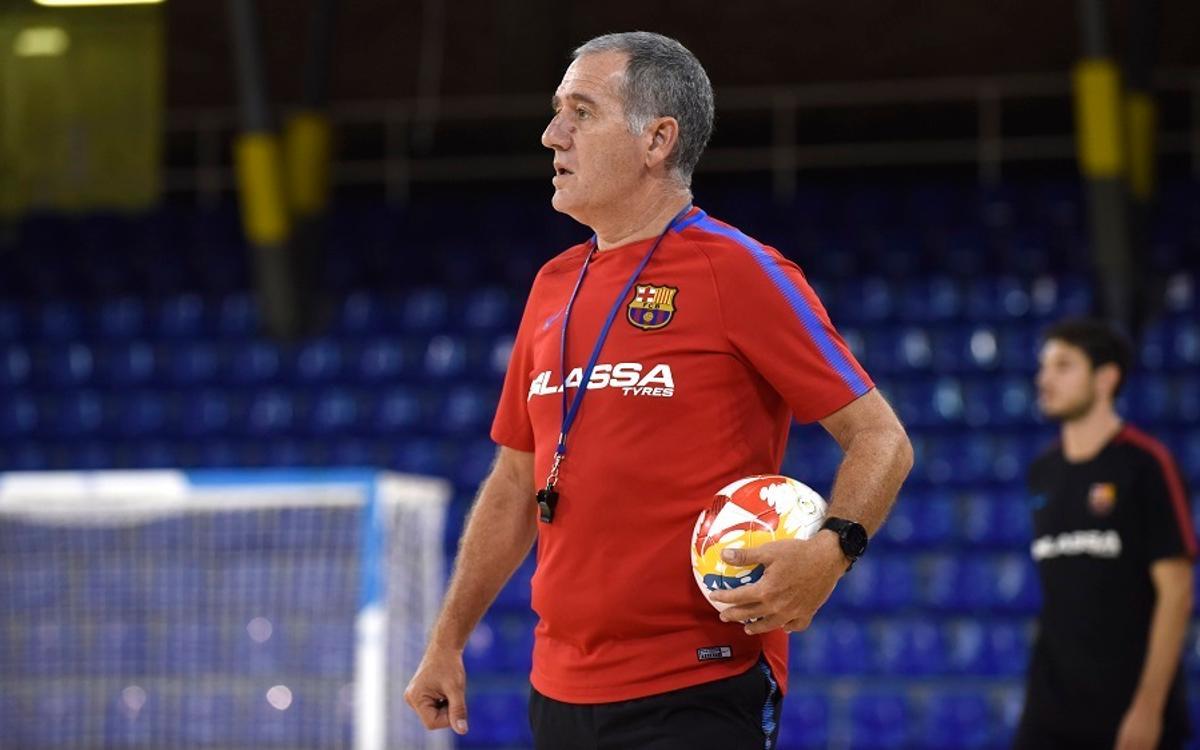"""Andreu Plaza: """"Ens espera un partit molt dur a Palma"""""""