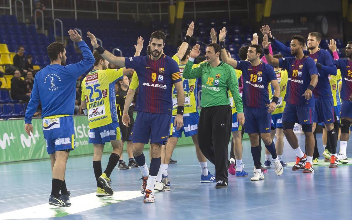 FC Barcelona Lassa – Helvetia Anaitasuna: Cal tornar al bon camí al Palau