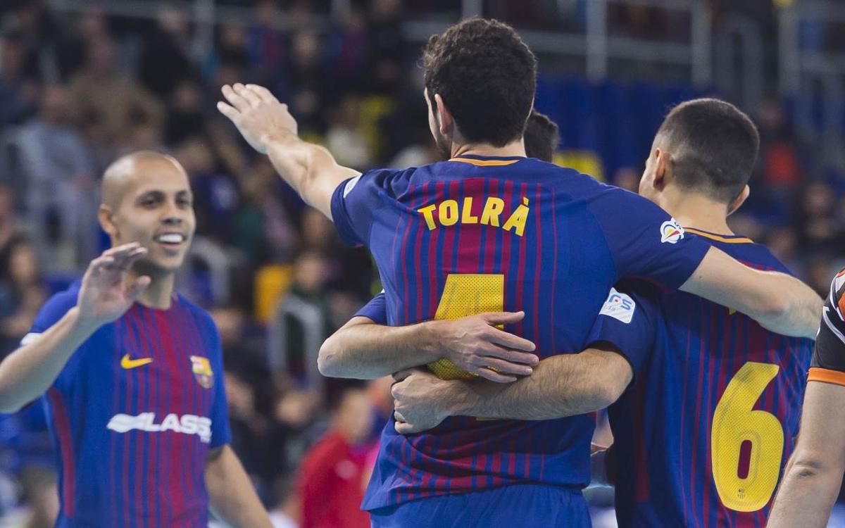 FC Barcelona Lassa – Aspil Vidal Ribera Navarra: Victòria d'intensitat (6-1)