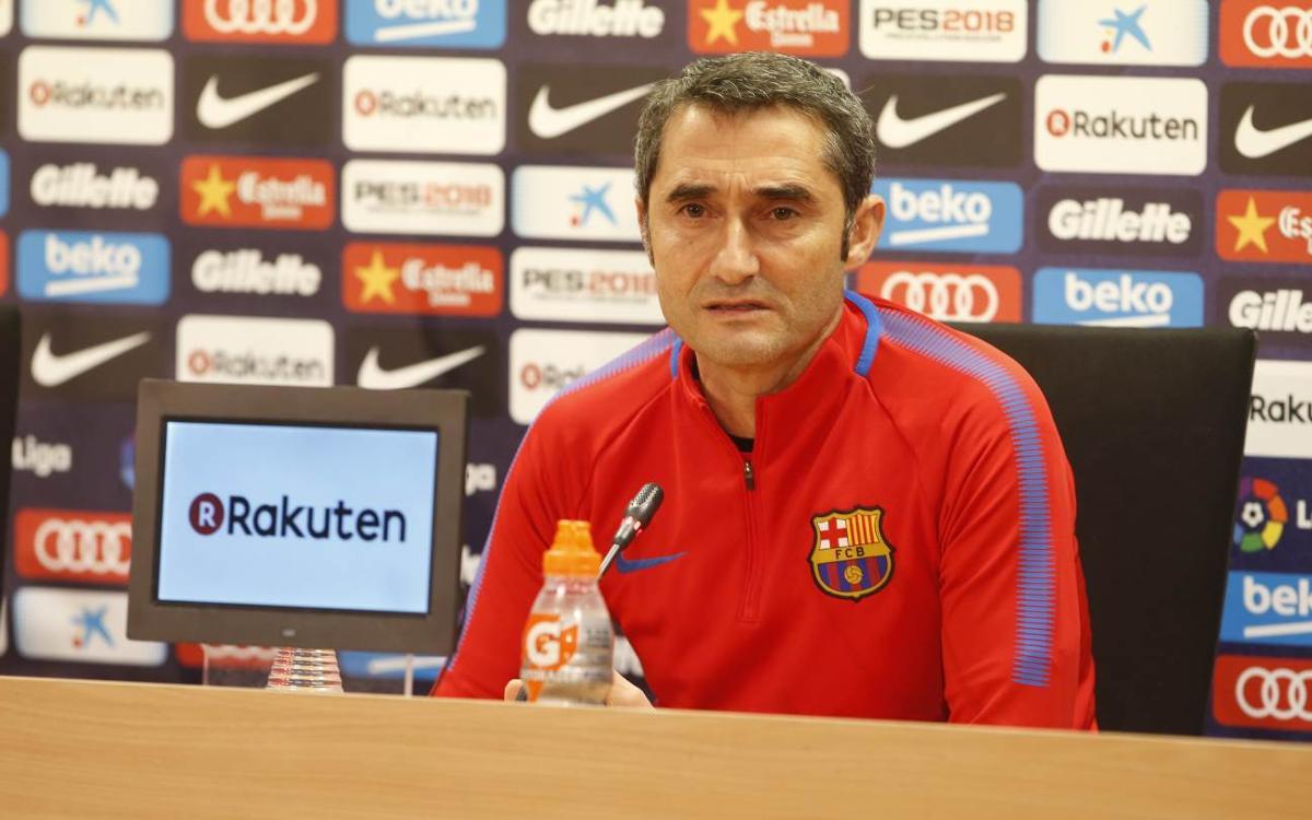 """Ernesto Valverde: """"El Deportivo arriba amb bones sensacions"""