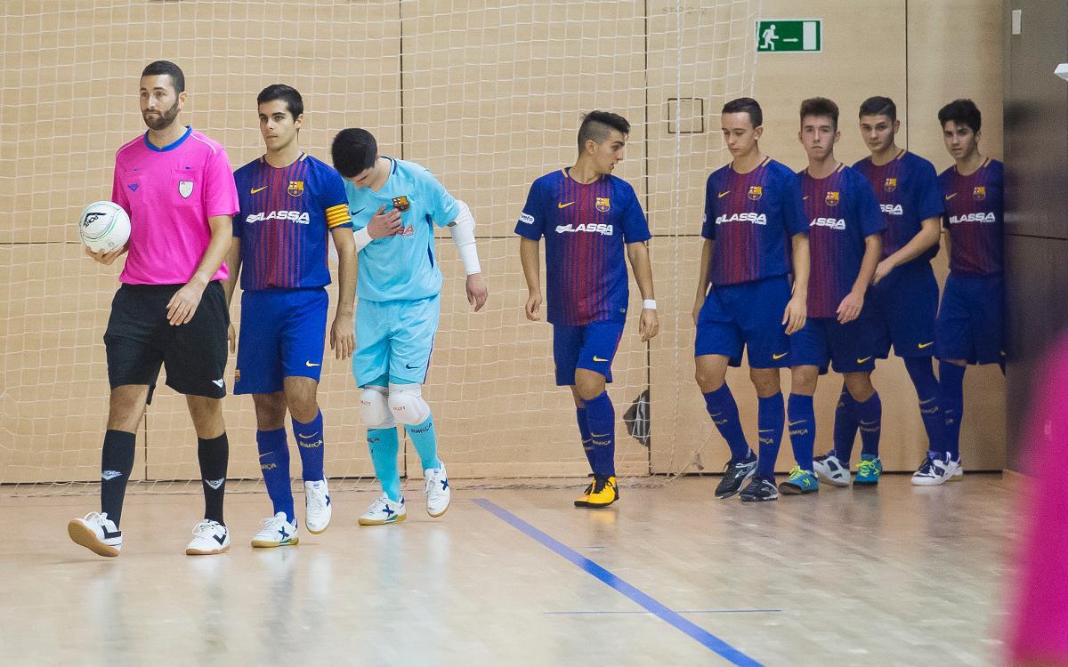Futbol sala formatiu: Cap de setmana perfecte