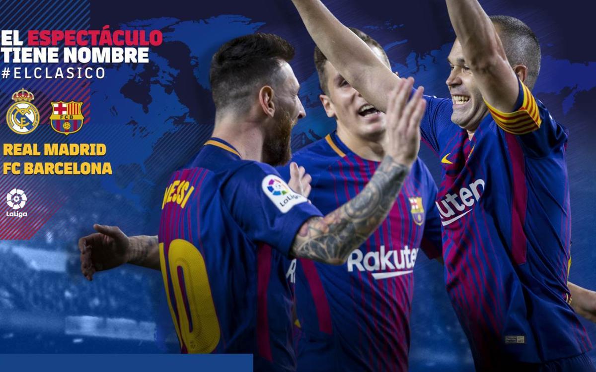 Cuándo y dónde se puede ver el Real Madrid - FC Barcelona